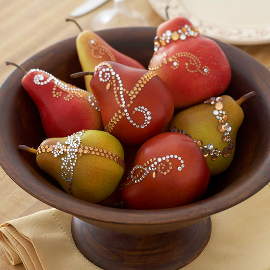 Dressed-up fruits
