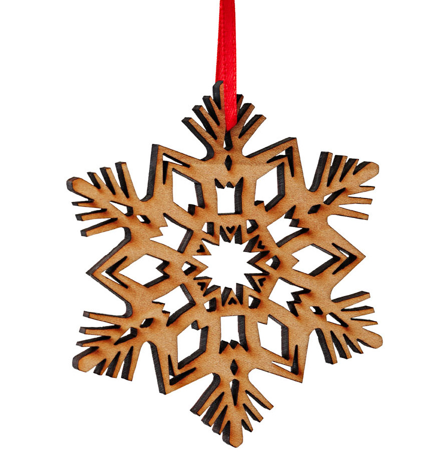 Timber Green Woods ornaments