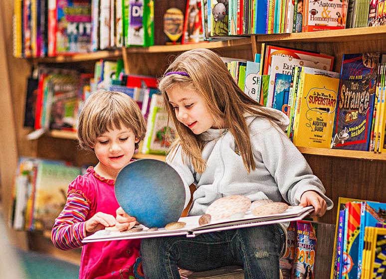 Anderson's Bookshop in Downers Grove celebrates the sensory pleasure of paper books.