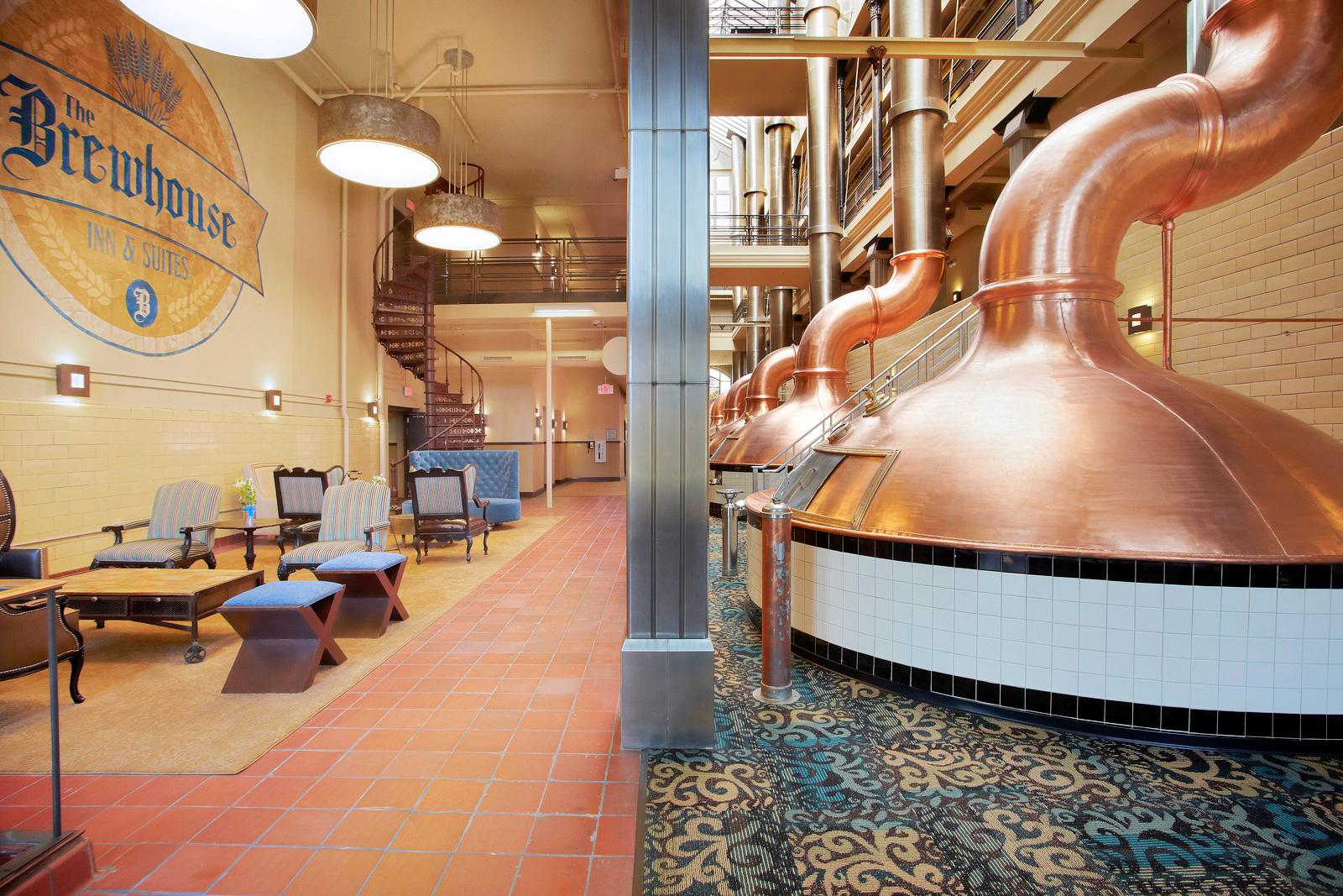 Brewhouse Inn. Photo courtesy of Visit Milwaukee.