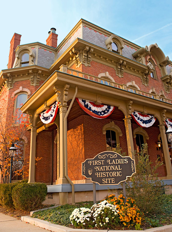 First Ladies National Historic Site, Canton