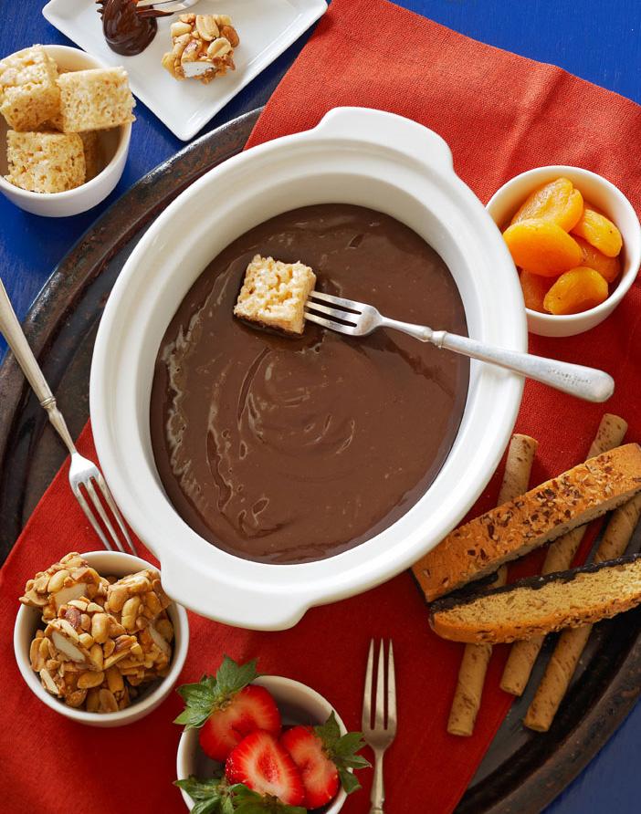 Chocolate-Caramel Fondue