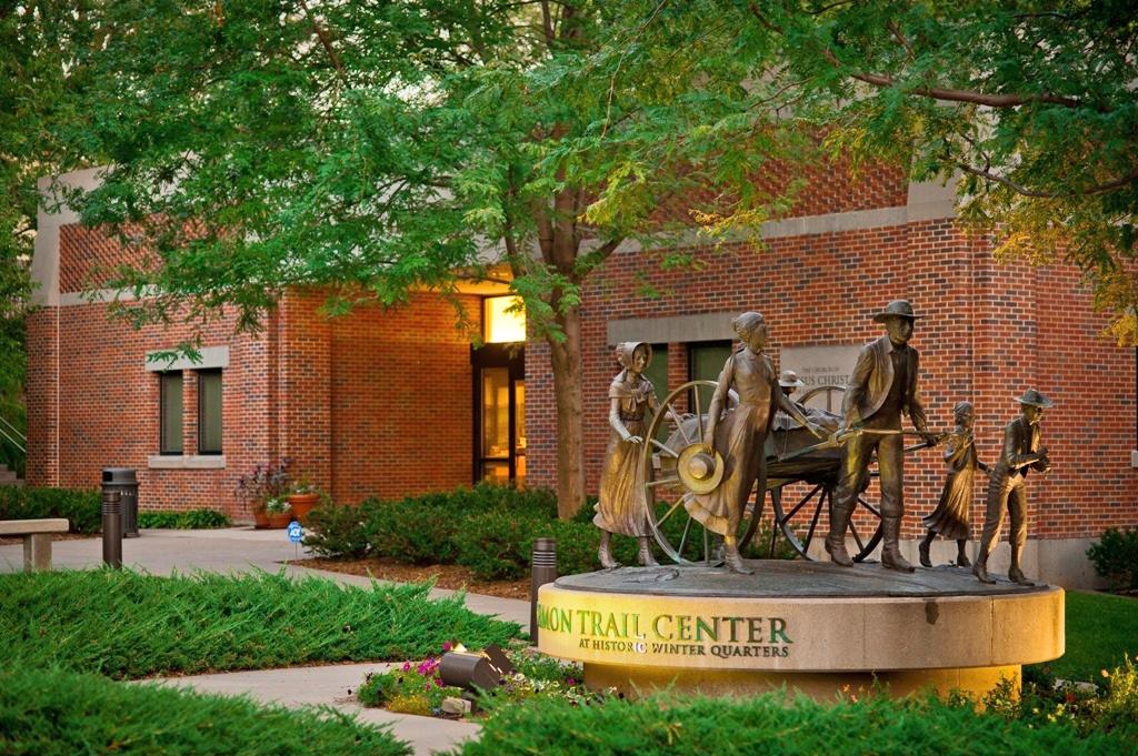 Mormon Trail Center. Photo courtesy of the Omaha Convention & Visitors Bureau.