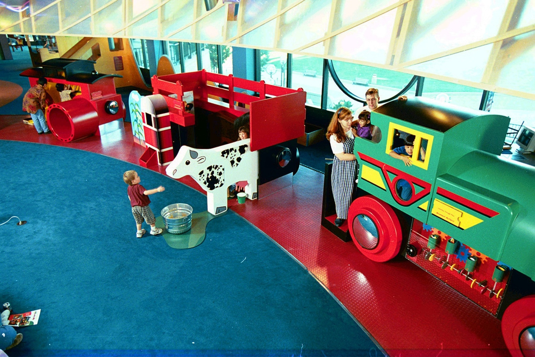 Betty Brinn Children's Museum. Photo courtesy of Visit Milwaukee.