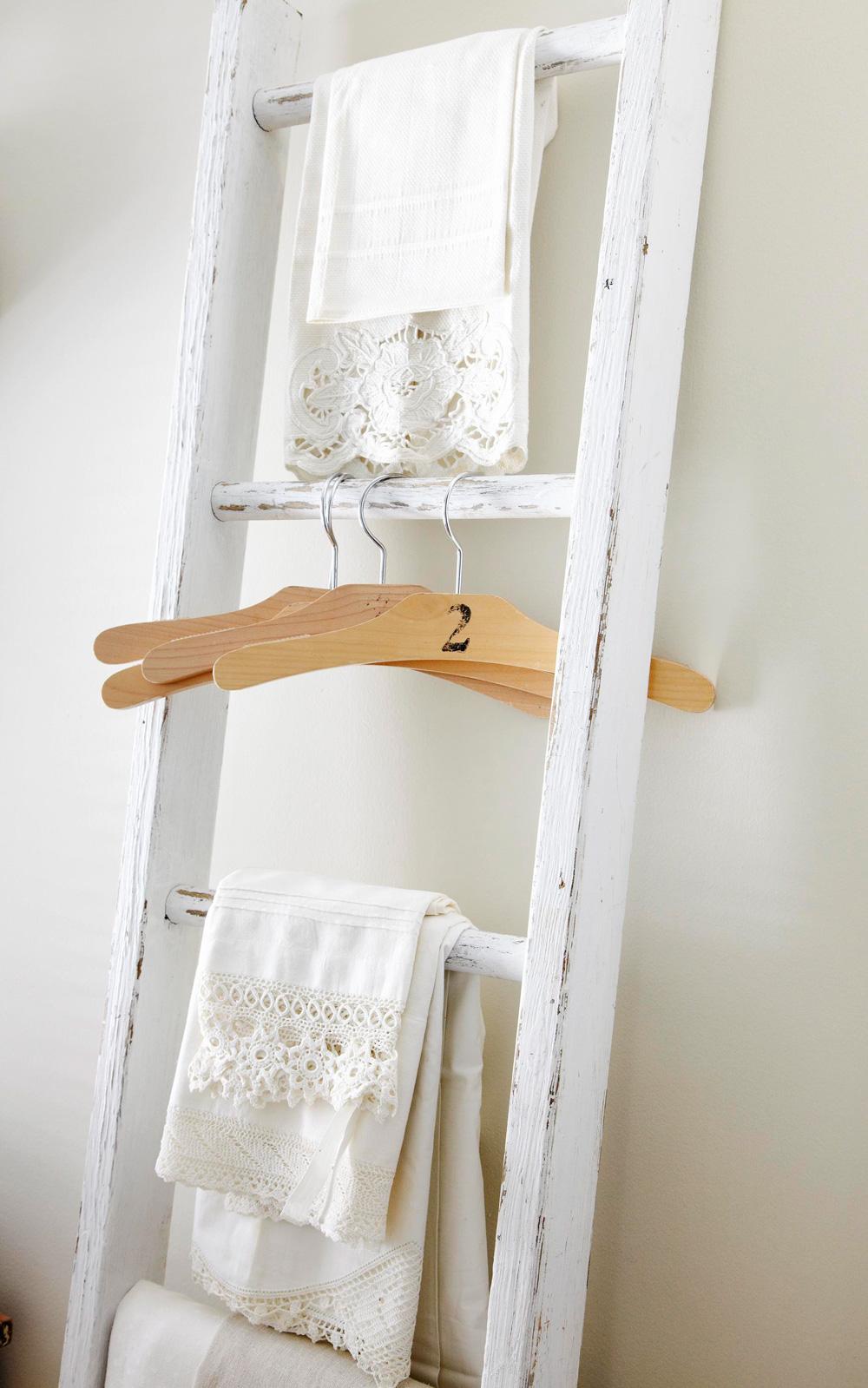 Ladder linens
