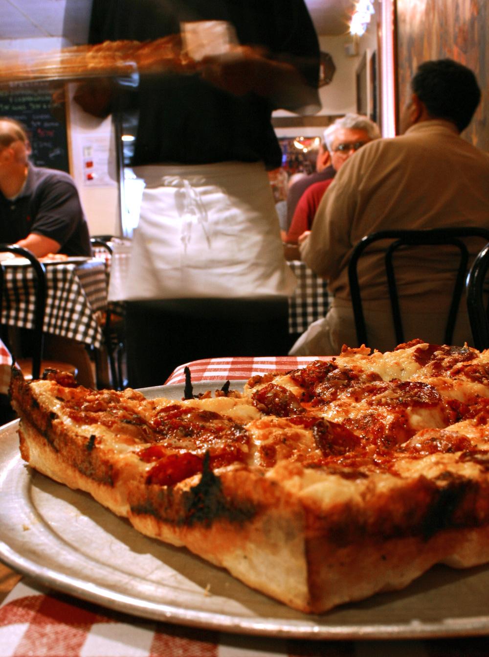 Buddy's Original Pizza. Photo courtesy of Bill Bowen.