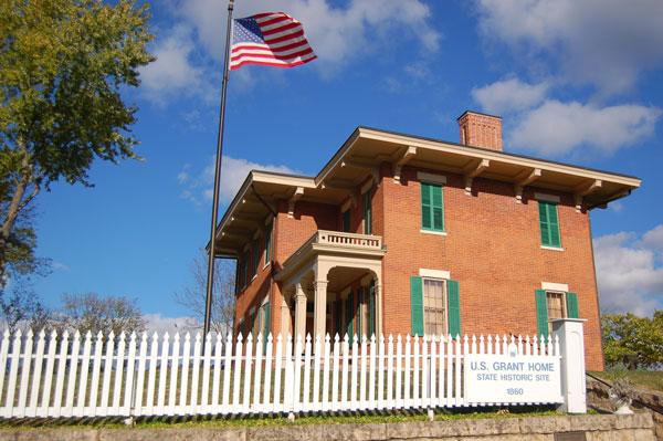 Ulysses S. Grant Home State Historic Site. Photo courtesy of Galena/Jo Daviess County Convention & Visitors Bureau.