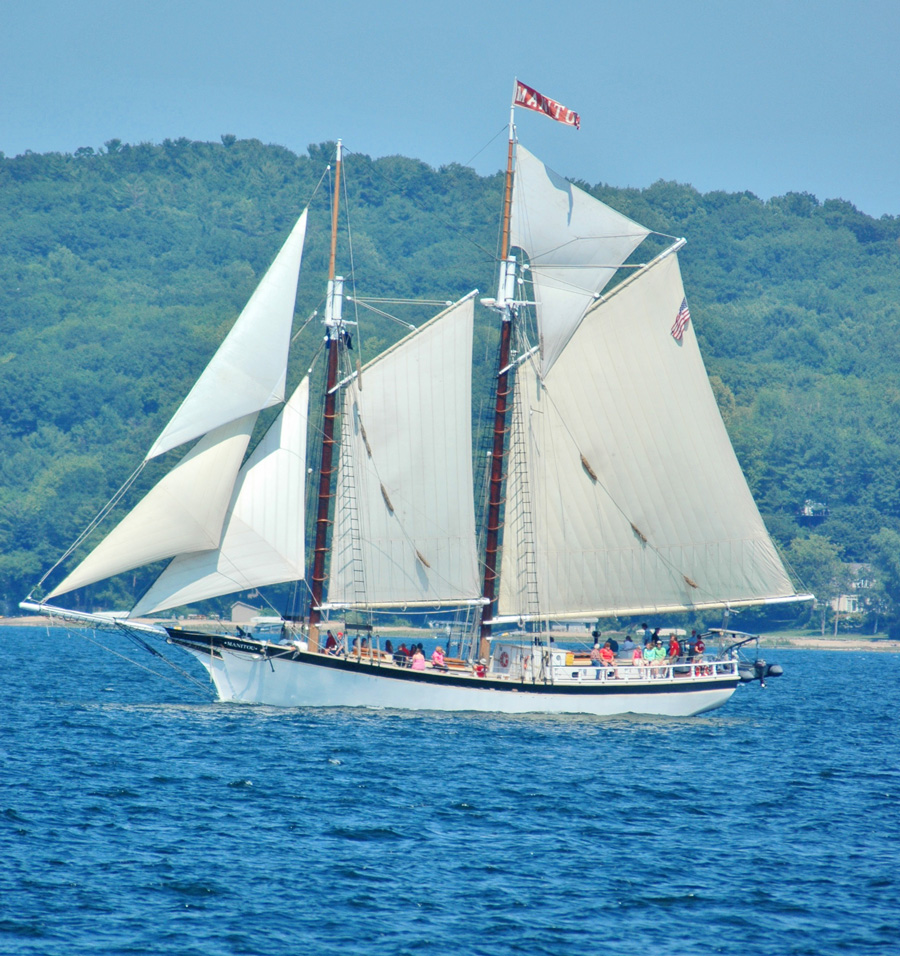 A tall ship. Photo courtesy of Traverse City Tourism.