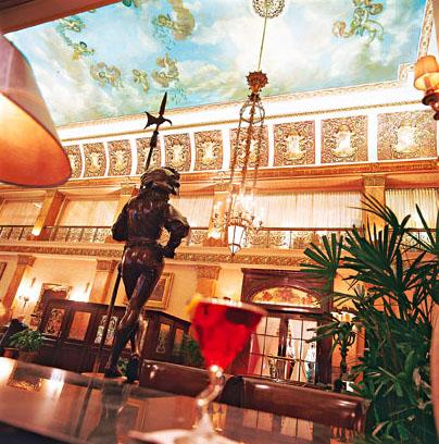 Pfister Hotel. Milwaukee, Wisconsin.