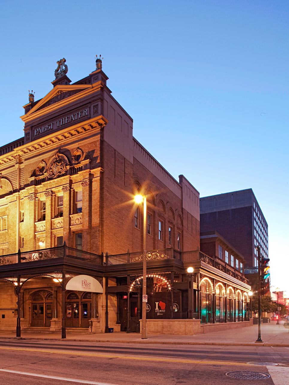 Pabst Theater. Milwaukee, Wisconsin.