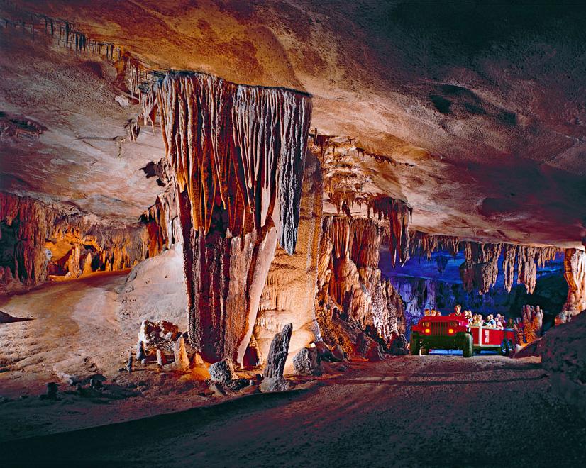 Fantastic Caverns in Springfield, Missouri