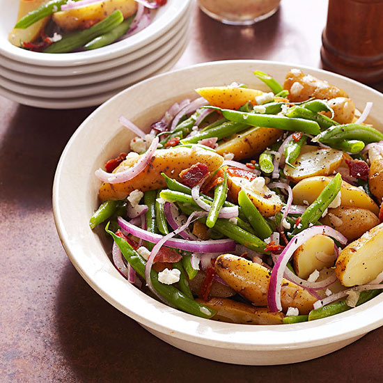 Fingerling Potato Salad with Honey-Thyme Vinaigrette