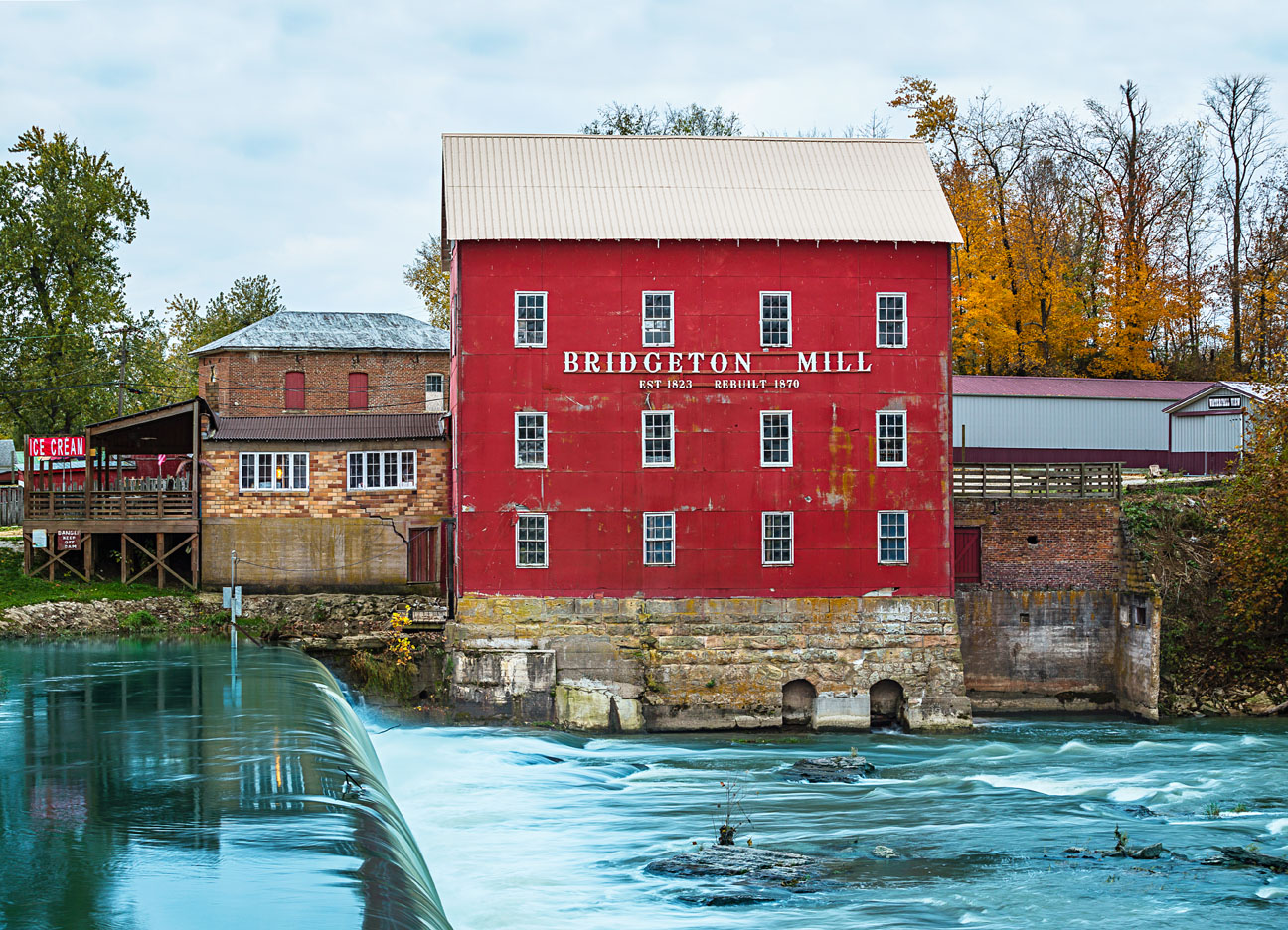 Bridgeton Mill, Indiana.