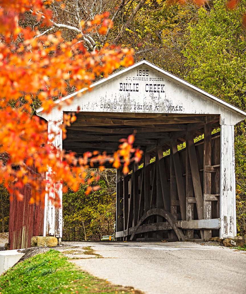 Billie Creek Bridge in Parke County.