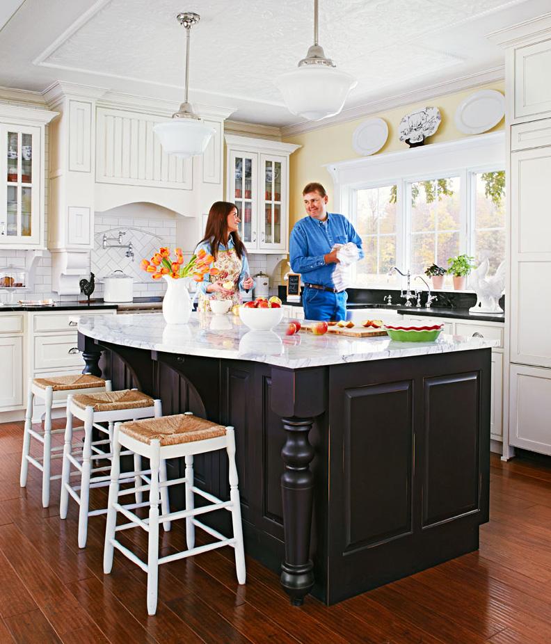 Refined rural kitchen