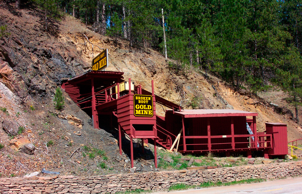 Broken Boot Gold Mine. Courtesy of Deadwood Chamber of Commerce and Visitor's Bureau