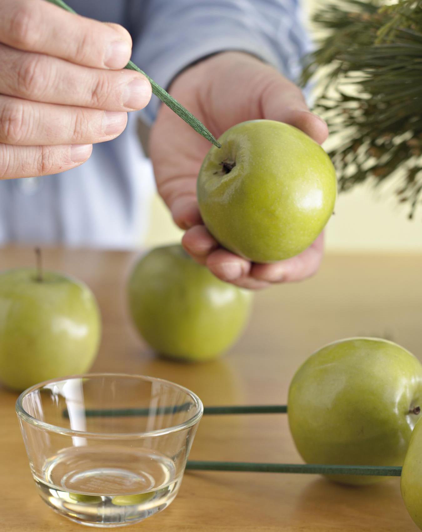 Step 3: Prep apples