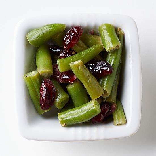 Mustard-Cranberry Green Beans