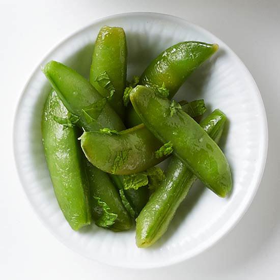 Lemony Snap Peas