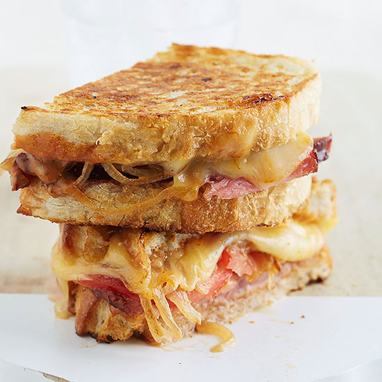 Ultimate Grilled Ham-and-Cheese Sandwich