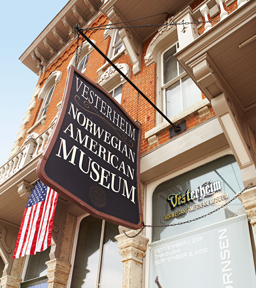 Decorah's Norweigan-American Museum: The Vesterheim.