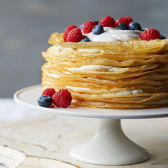 Vanilla Bean Crepe Cake