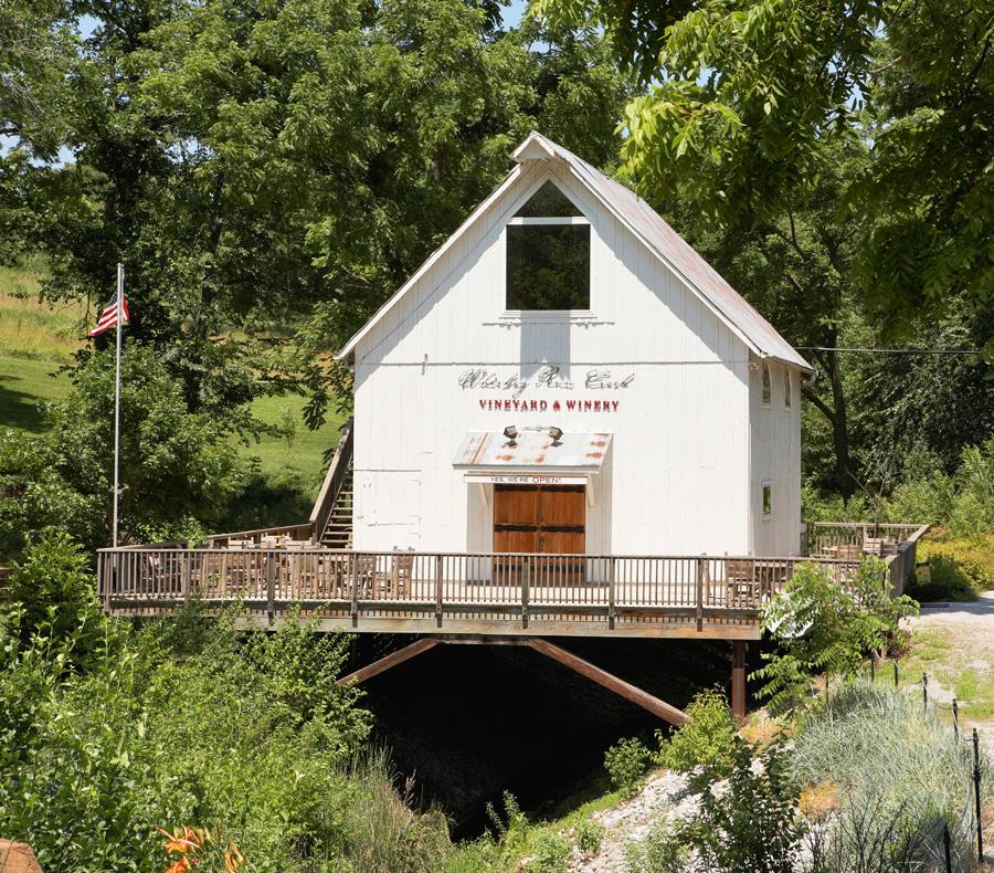 Whiskey Run Creek Vineyard and Winery.