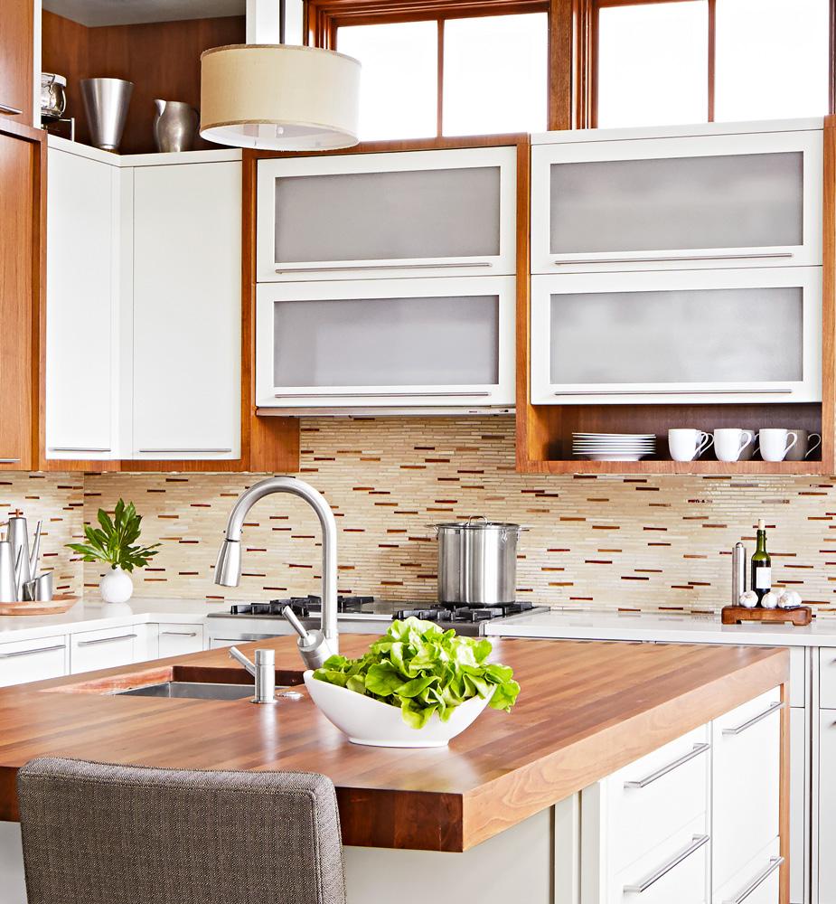 Handmade glass tiles