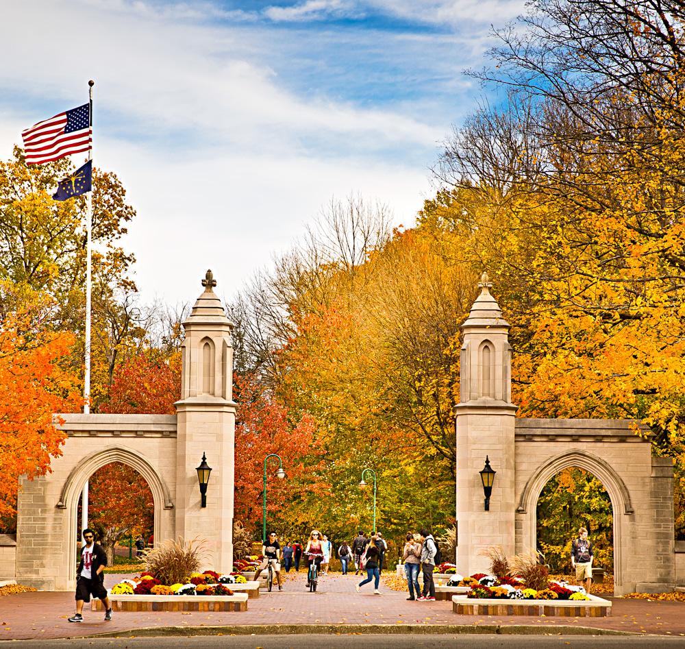 Sample Gates. Indiana University.