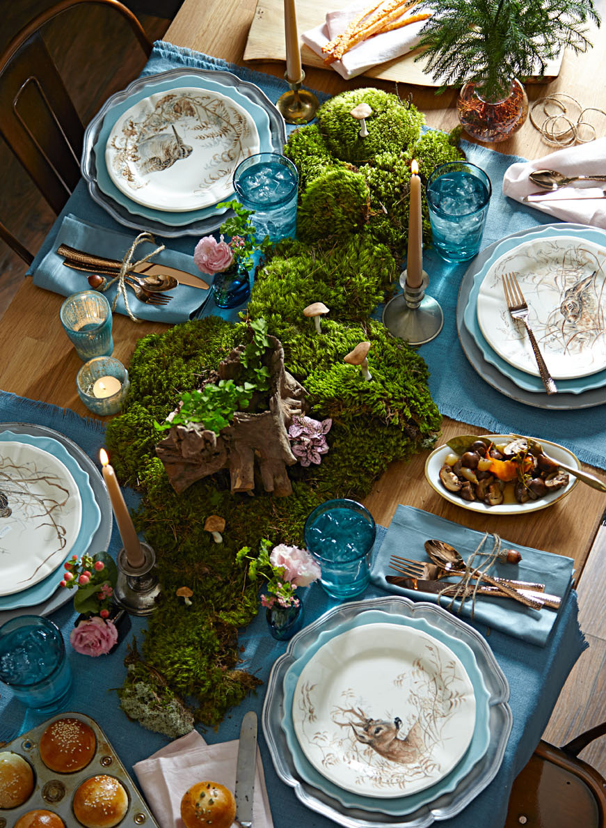 Woodland centerpiece