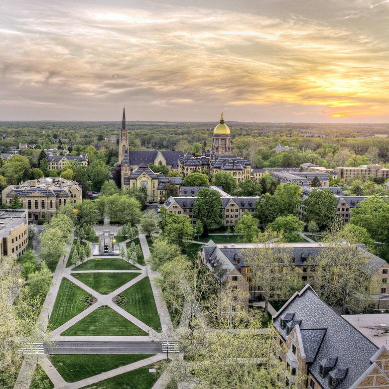University of Notre Dame sites