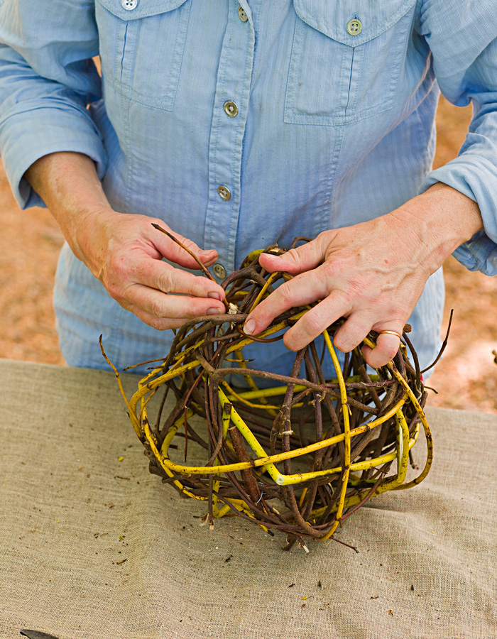 Step 4: Weave the branches