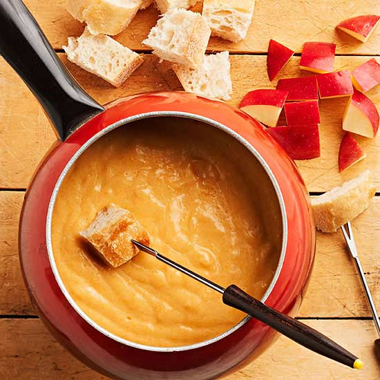 Cider-Cheese Fondue