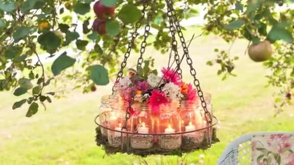 How To: Make a Garden Chandelier