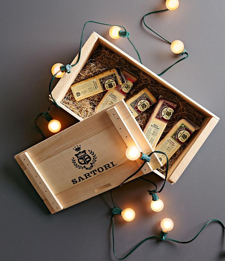 Sartori Cheese gift basket