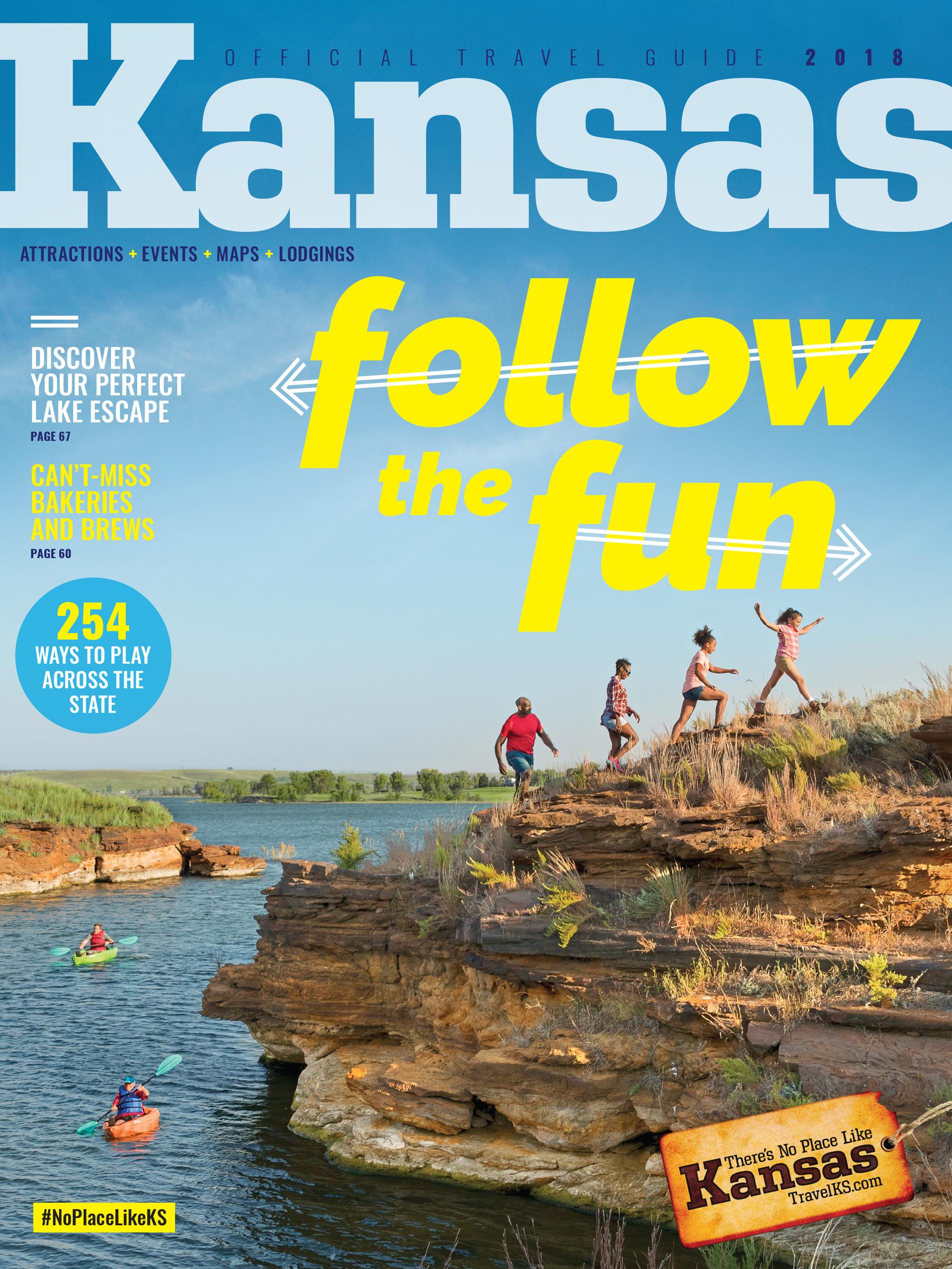 Kansas Travel Guide Cover