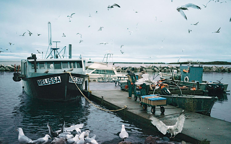 Grand Marais fishermen