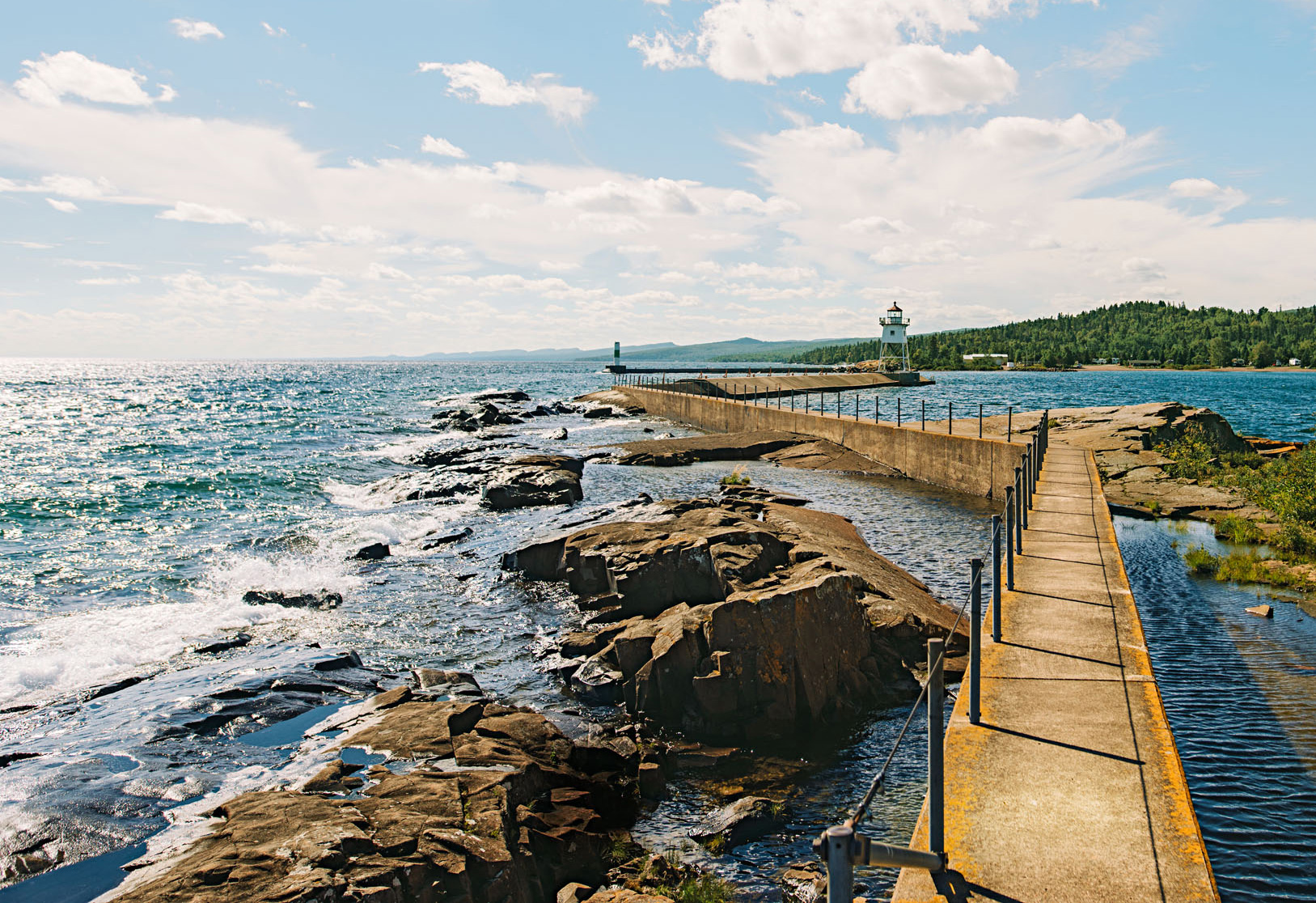 Artists Point in Grand Marais