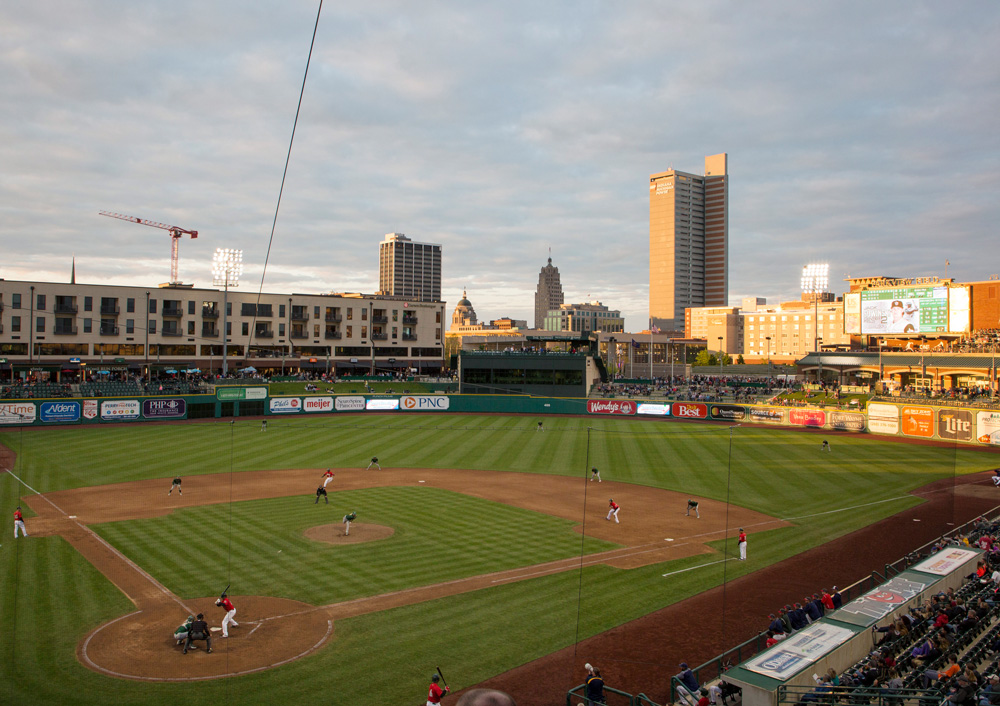 The Fort Wayne Tincaps at Parkview Field