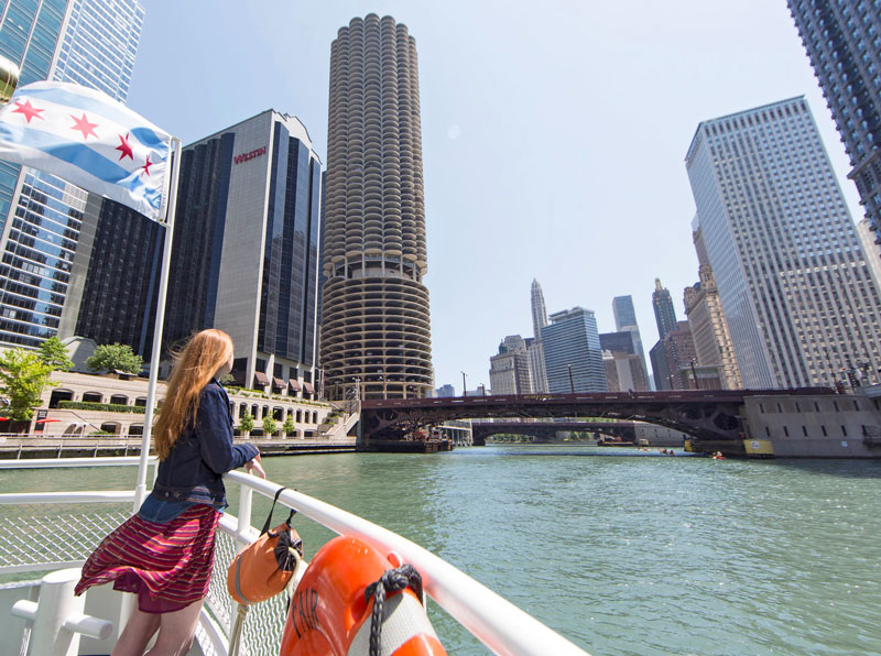First Lady Cruise, Chicago. Photo: Courtesy IOT