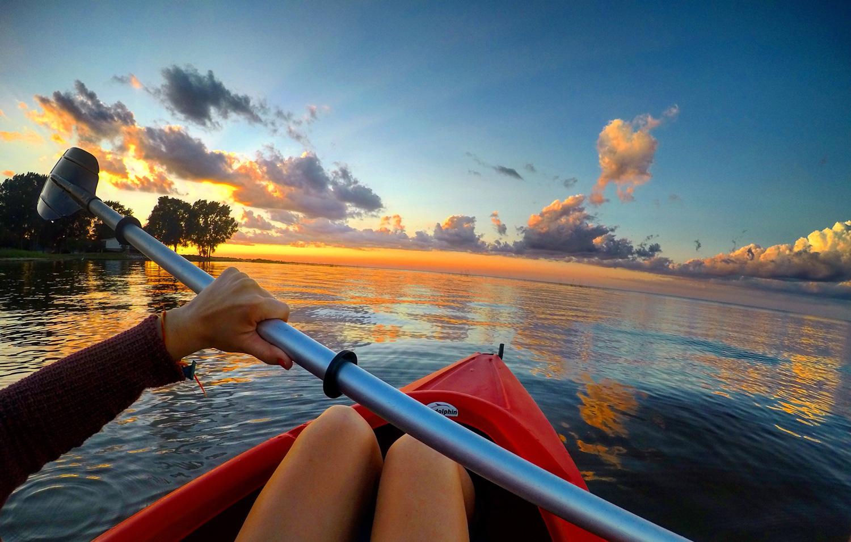 Bay City kayaking