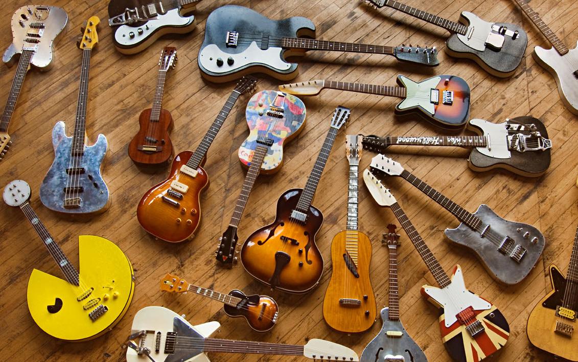 Ian's instruments
