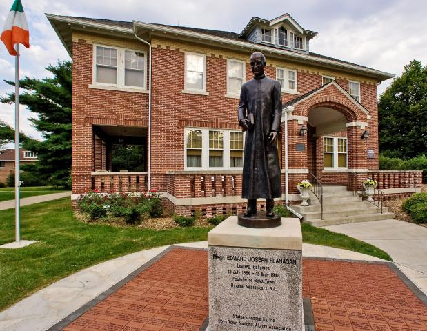 Boys Town. Photo courtesy of Omaha Convention and Visitors Bureau.