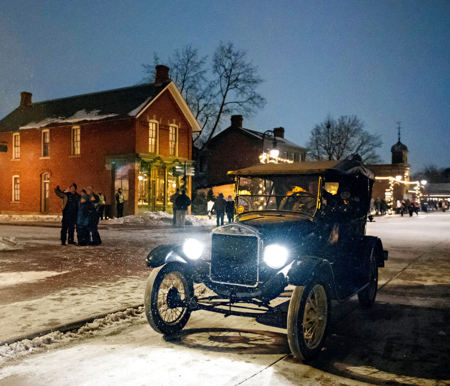 Greenfield Village's Holiday Nights