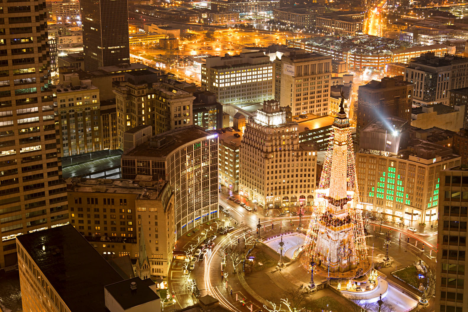 Christmas In Indianapolis.Holiday Getaway To Indianapolis Midwest Living