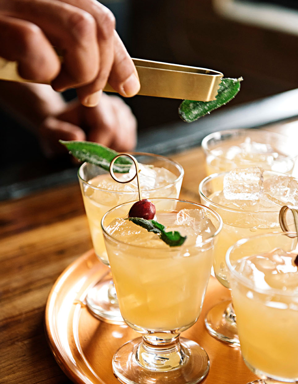 Sage woodstock cocktail