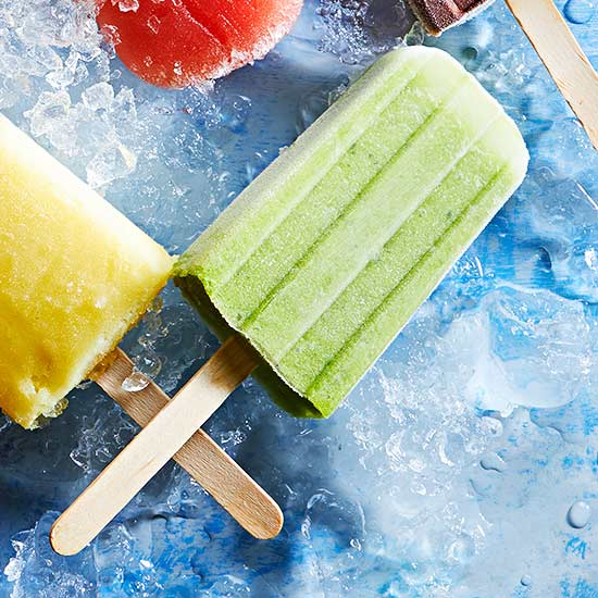 Green Ginger Pops