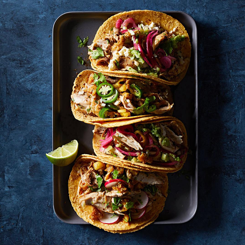 Chicken Carnitas Tacos