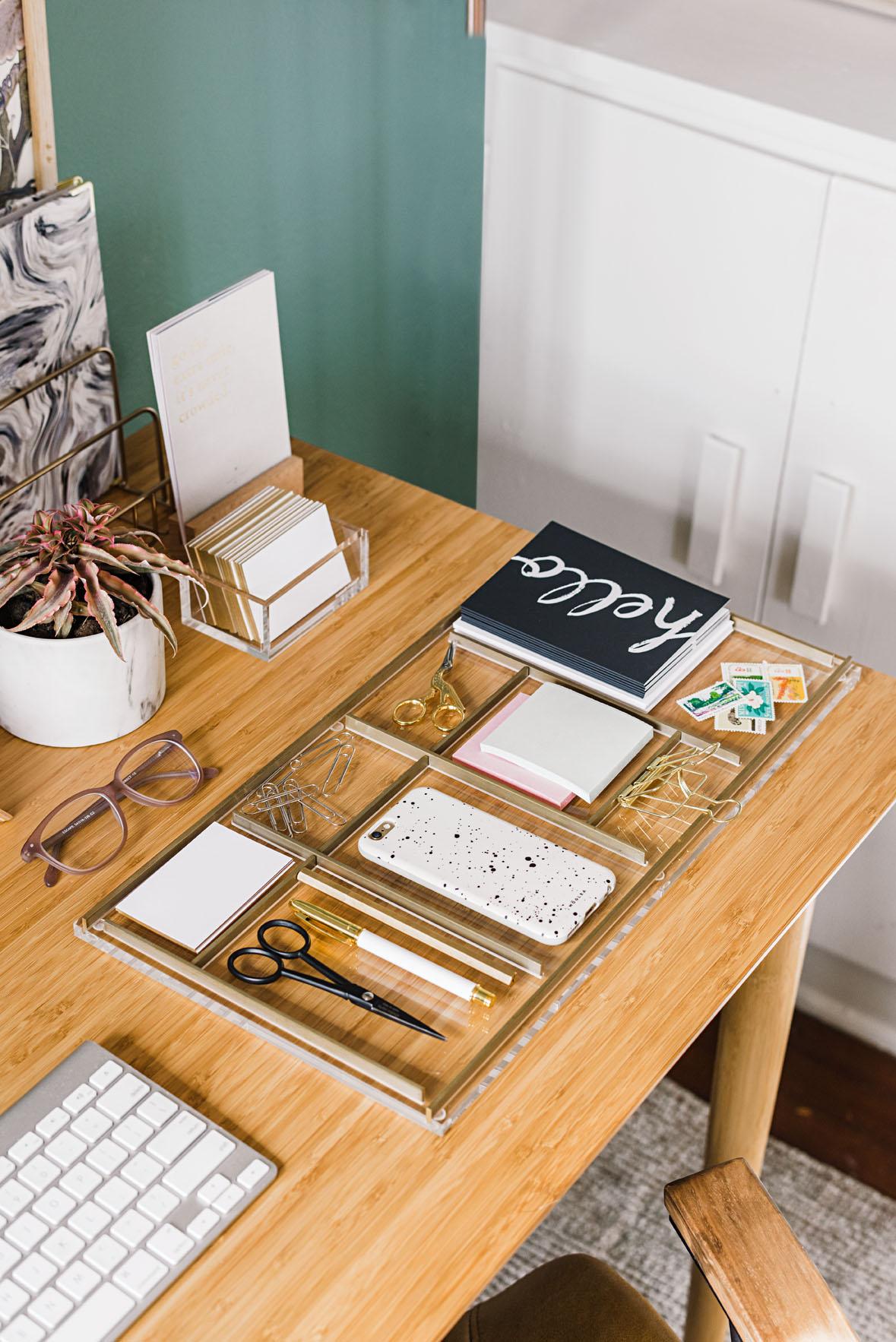 Organize Desk Supplies