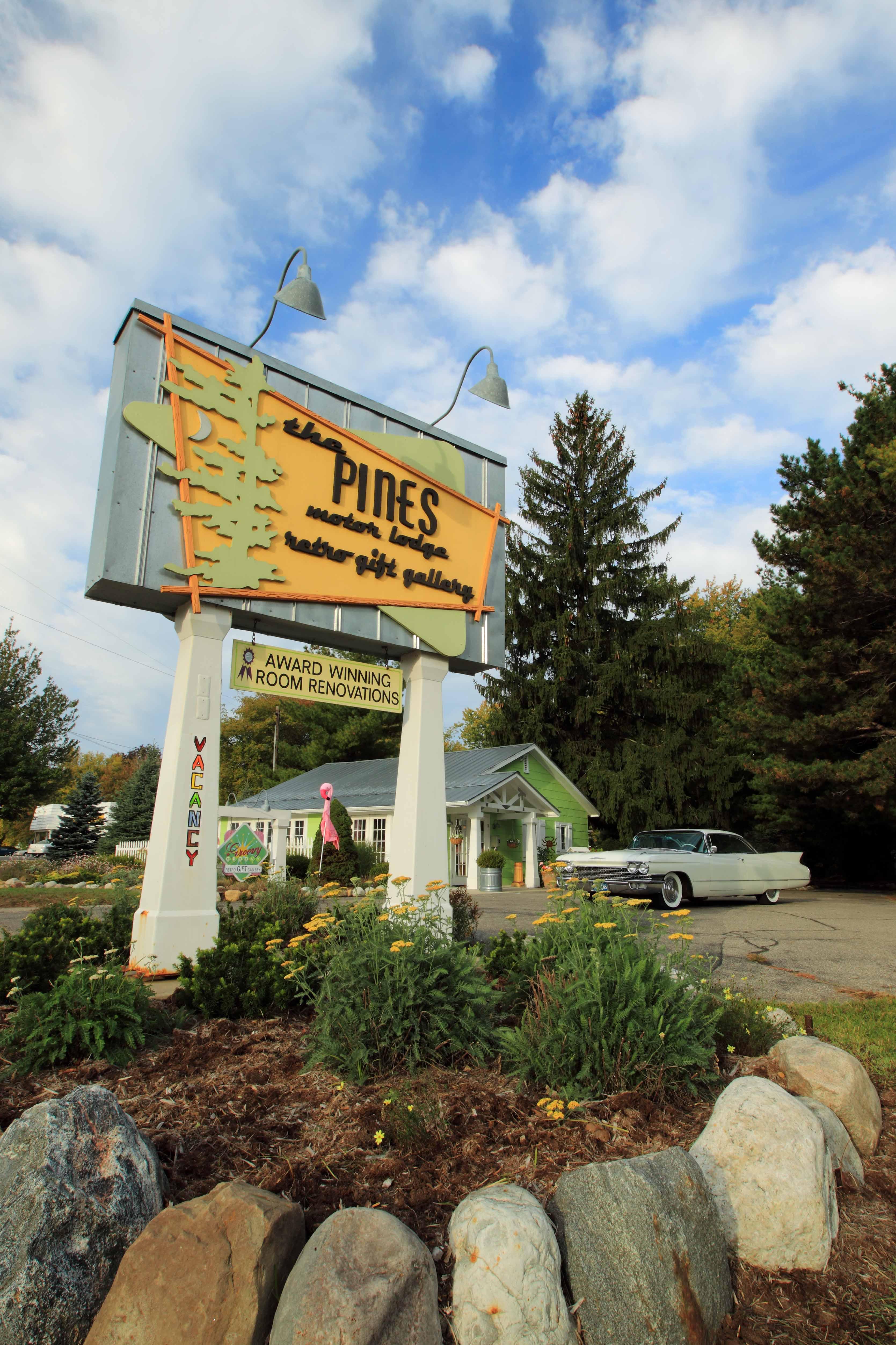 The Pines Motorlodge. St. Joseph, Michigan.